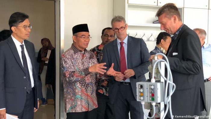 Indonesian Education and Culture Minister Muhadjir Effendi (Kemendikbud/Nasrullah)