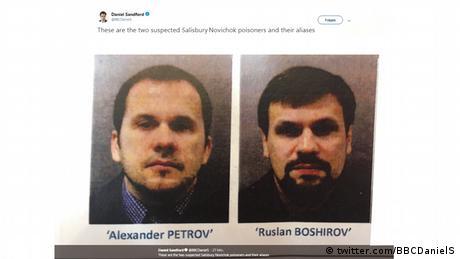 Справа Скрипаля: британська поліція розшукує двох росіян