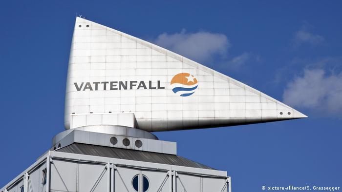 Logo da empresa sueca Vattenfall
