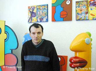 Thierry Noir y su obra.