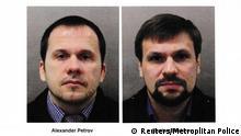 Gesucht wegen Nowitschok Alexander Petrov and Ruslan Boshirov