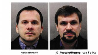 Олександр Петров і Руслан Боширов - підозрювані в отруєнні Скрипалів