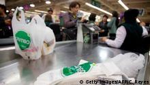 Plastik im Supermarkt