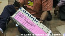 Electronic Voting Machines Indien