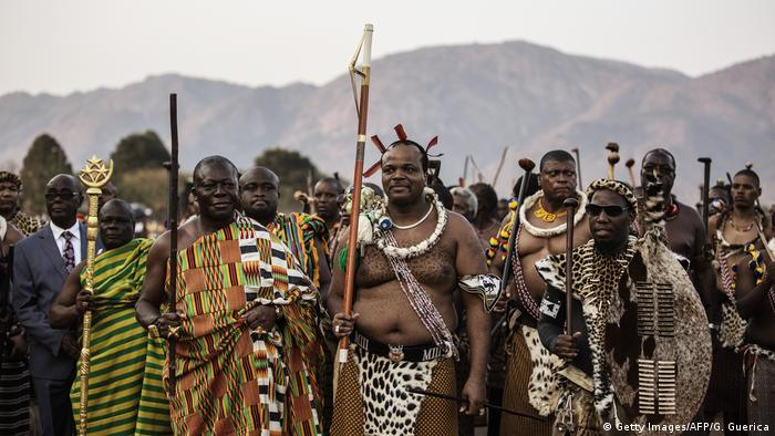 Swasiland | König Mswati III (Getty Images/AFP/G. Guerica)