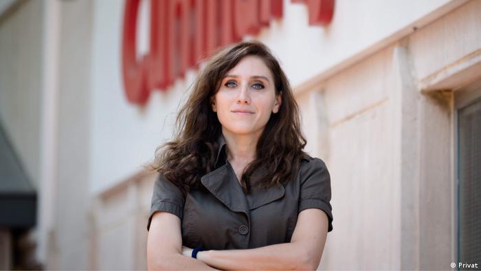 Pelin Ünker - türkische Wirtschaftjournalistin aus Cumhuriyet Zeitung