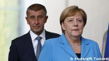 Deutschland   Besuch des tschechischen Ministerpräsidenten Babis