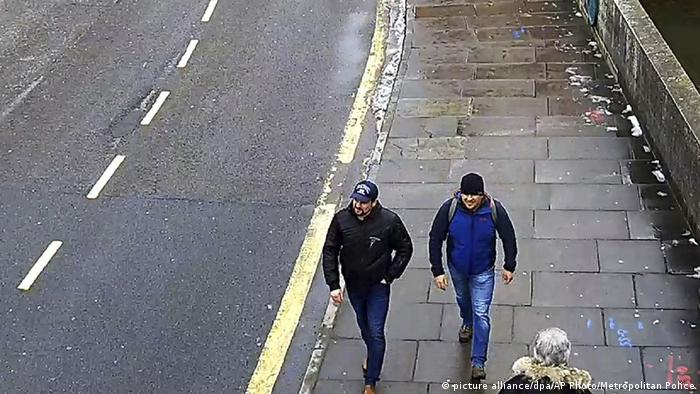 Picture of two suspects in Salisbury poisoning (picture alliance/dpa/AP Photo/Metropolitan Police)