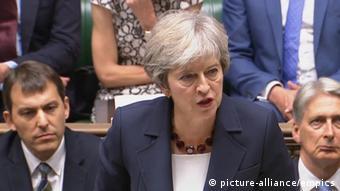 Терез Мей у британському парламенті обіцяє наполягати на нових санкціях ЄС проти Росії