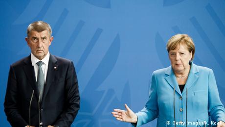 Бабіш та Меркель зустрілися у Берліні
