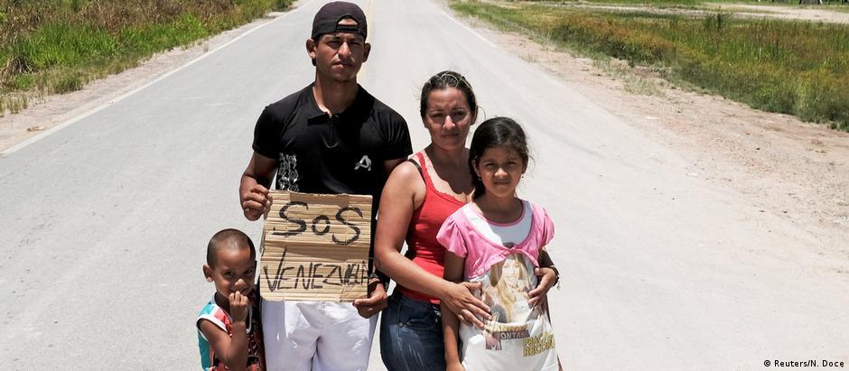Συναγερμός για τους πρόσφυγες από Βενεζουέλα