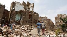 Jemen Sanaa Bürgerkrieg Ruinen