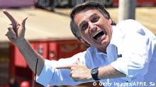 Brasilien Präsidentschaftswahlen Kandidat Jair Bolsonaro