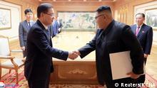 Pjöngjang Südkorea Nordkorea Gipfel Denuklearisierung