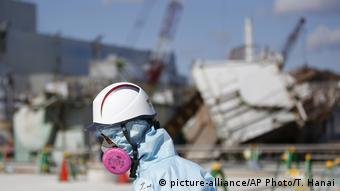 Japan Fukushima Dai-ichi Kernkraftwerk (picture-alliance/AP Photo/T. Hanai)