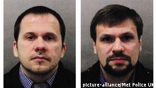 Großbritannien: Scotland Yard veröffentlicht Fotos der Hauptverdächtigen im Fall Skripal
