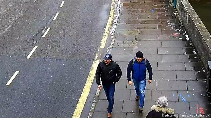 Petrov and Boshirov in Salisbury (picture-alliance/Met Police UK)