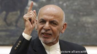 Ashraf Ghani (picture-alliance/AP/R. Gul)