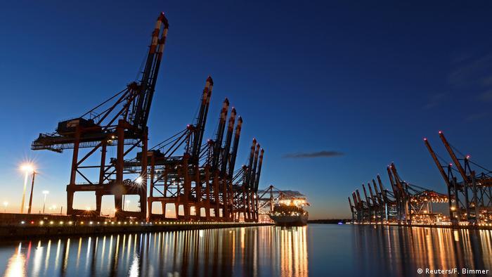 Über den Hafen Hamburg kommt sehr viel Kaffee nach Europa