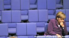 Berlin Bundeskanzlerin Angela Merkel Mimik