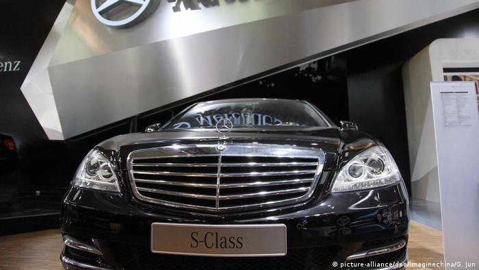Mercedes Benz S-Klasse (picture-alliance/dpa/Imaginechina/G. Jun)