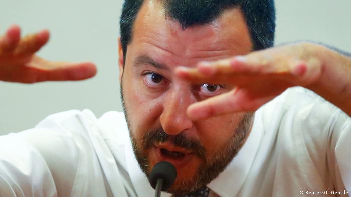 Italen Innenminister Salvini (Reuters/T. Gentile)