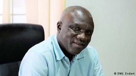 Dr. Kwaku Ofosu-Adarkwa, National Coordinator, Alliance for Affordable Internet (DW/J. Endert)