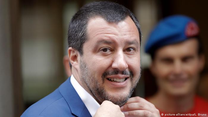 Italen Innenminister Matteo Salvini (picture-alliance/dpa/L. Bruno)