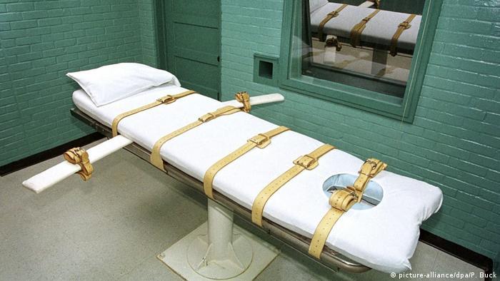 Símbolo de la pena de muerte en EE. UU.: una celda de la muerte en Texas.