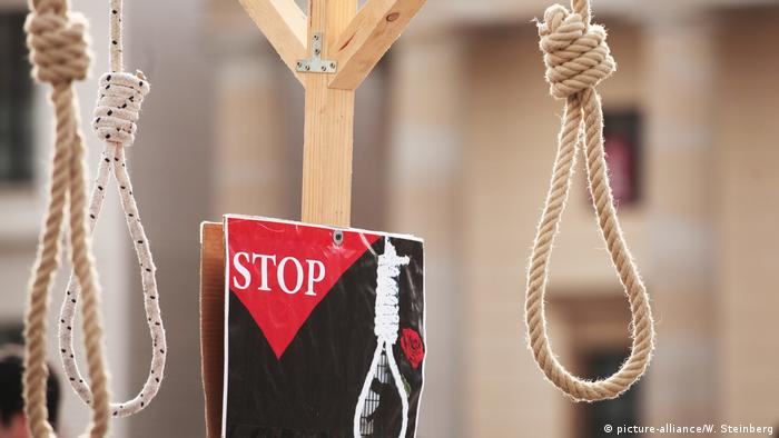 Gegen die Todesstrafe (picture-alliance/W. Steinberg)