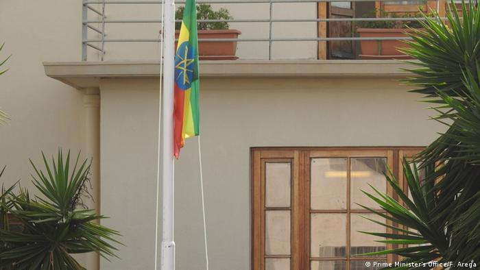 Asmara Eritrea - opening of the Ethiopian embassy