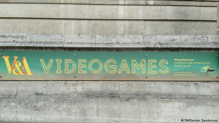 London Video Games im Victoria & Albert Museum (DW/Sertan Sanderson)