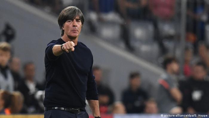 Fußball Nations League München Deutschland vs Frankreich | Joachim Löw