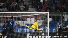 Fußball Nations League München Deutschland vs Frankreich