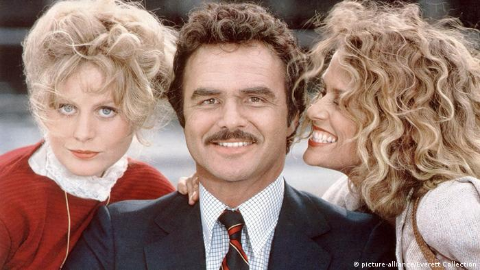 Beverly D'Angelo, Burt Reynolds, Lauren Hutton in Paternity (picture-alliance/Everett Collection)