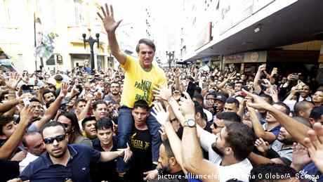 O candidato à Presidência Jair Bolsonaro