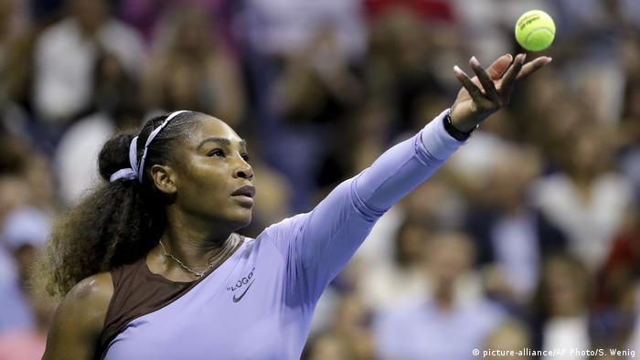 US Open Tennis - Halbfinale | Serena Williams (picture-alliance/AP Photo/S. Wenig)