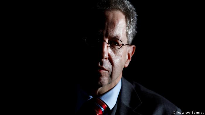 Hans-Georg Maassen in half-shadow