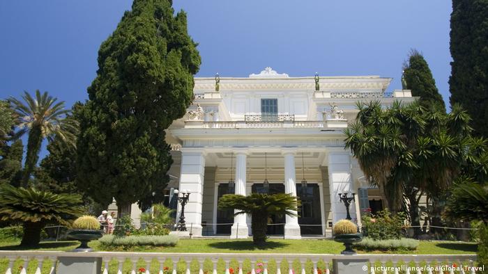 Griechenland Korfu Achillion (picture-alliance/dpa/Global Travel)