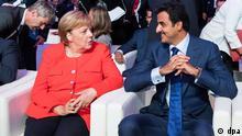 Katar-Deutschland Forum in Berlin