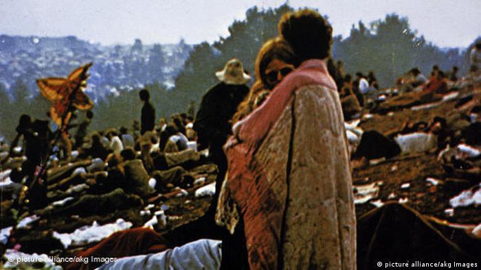 Filmausschnitt aus Woodstock Festival (picture alliance/akg Images)