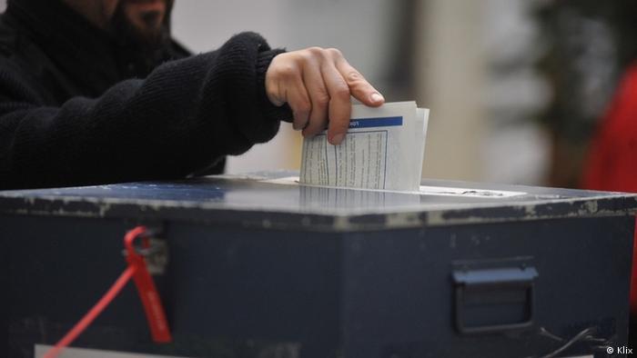 Bosnien-Herzegowina Sarajewo Beginn Wahlkampagne