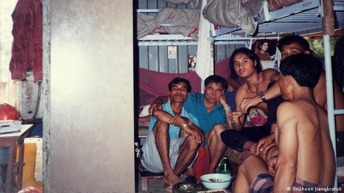 Thailand Migranten Singapur Container (Srikhoon Jiangkratok)