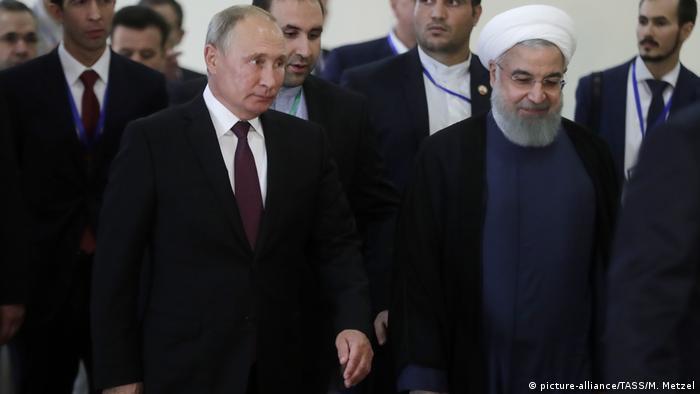 Putin i Rohani u Teheranu prošlog rujna