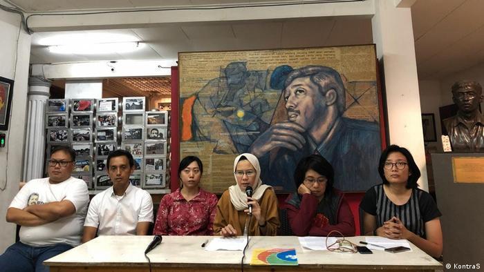 Aktivist human rights Munir, Indonesien (KontraS)