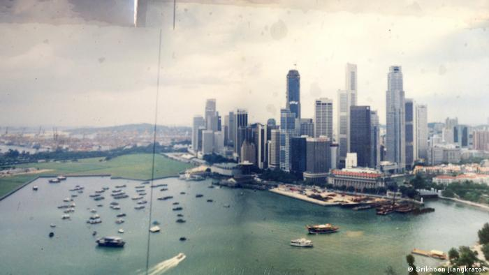 Singapur Skyline in 1994 (Srikhoon Jiangkratok)