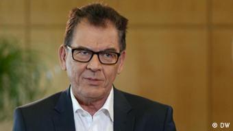 Gerd Müller, CSU, Bundesentwicklungsminister (DW)