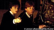 Filmnstill - Harry Potter und die Kammer des Schreckens - Rupert Grint als Ron Weasley