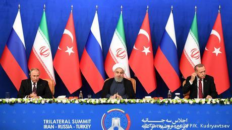 Президенти Ірану, РФ та Туреччини заявили, що співпрацюватимуть щодо Ідліба