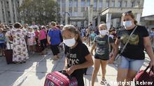 Krim Armyansk Bevölkerung evakuiert wg Titanwerk